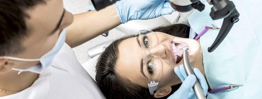 Стоматологический микроскоп для лечения зубов